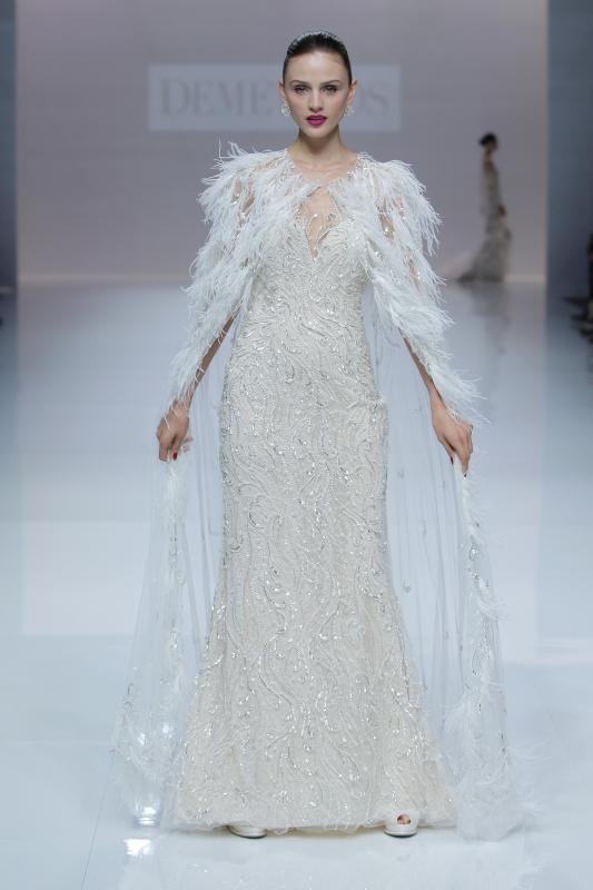 c61c6408b4 Tendencias en vestidos de novia para 2019 en la BBFW 2018 – Wedding ...